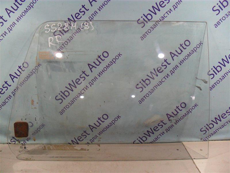 Стекло собачника Kia Besta SS28M R2 1995 заднее правое