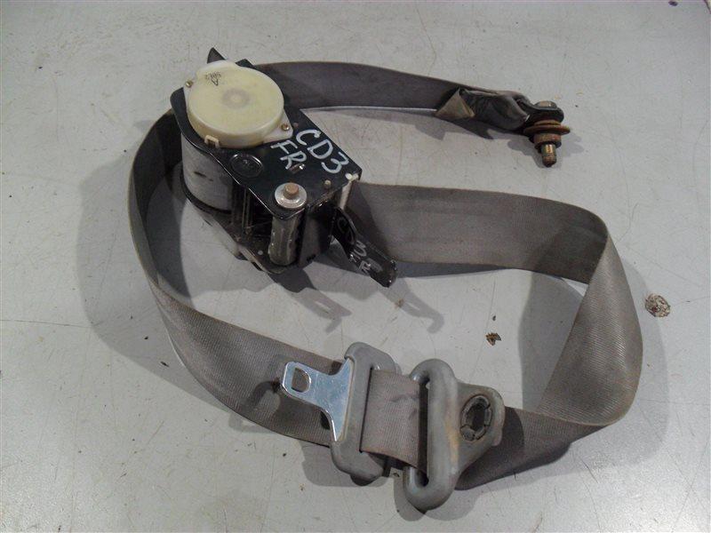 Ремень безопасности Honda Accord CD3 F18B 1995 передний правый