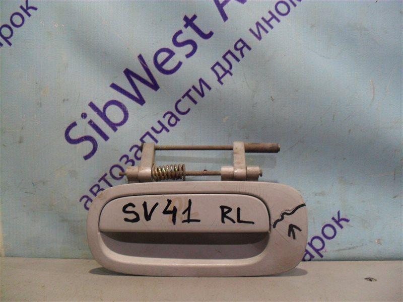 Ручка двери внешняя Toyota Camry SV41 3S-FE 1995 задняя левая