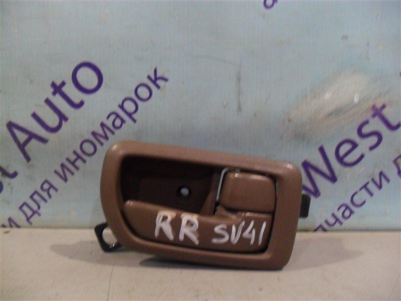 Ручка двери внутренняя Toyota Camry SV41 3S-FE 1995 задняя правая