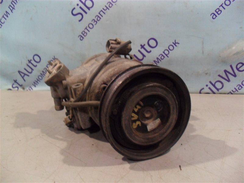 Компрессор кондиционера Toyota Camry SV41 3S-FE 1995
