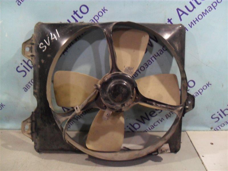 Вентилятор радиатора кондиционера Toyota Camry SV41 3S-FE 1995