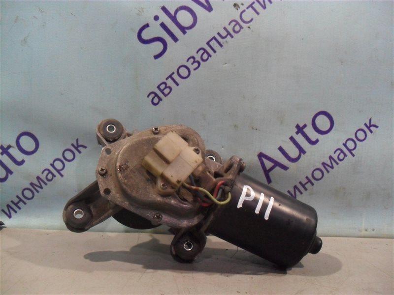 Мотор дворников Nissan Primera P11 SR18DE 1997 передний
