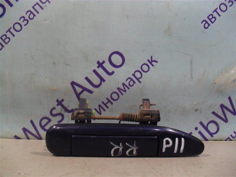Ручка двери внешняя Nissan Primera P11 SR18DE 1997 задняя правая