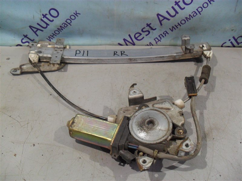 Стеклоподъемник Nissan Primera P11 SR18DE 1997 задний правый