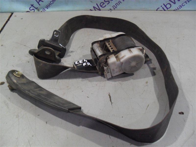 Ремень безопасности Honda Ascot CE4 G20A 1994 передний правый