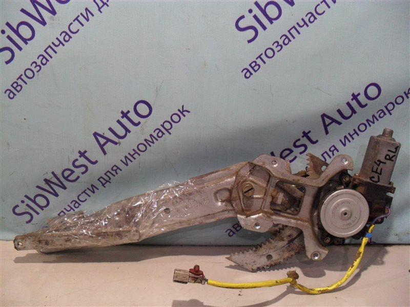 Стеклоподъемник Honda Ascot CE4 G20A 1994 задний левый