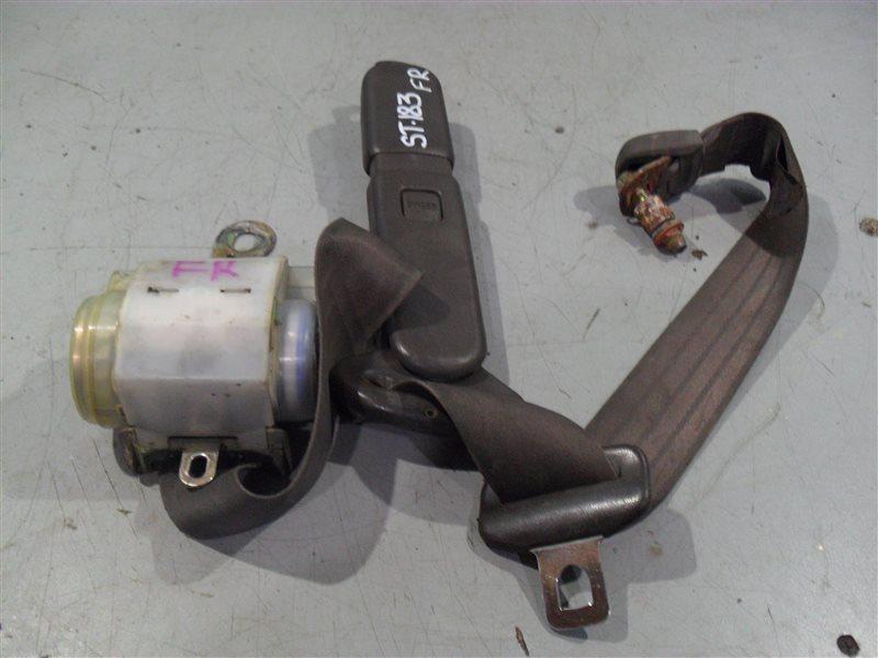 Ремень безопасности Toyota Carina Ed ST183(2) 3SFE 1989 передний правый