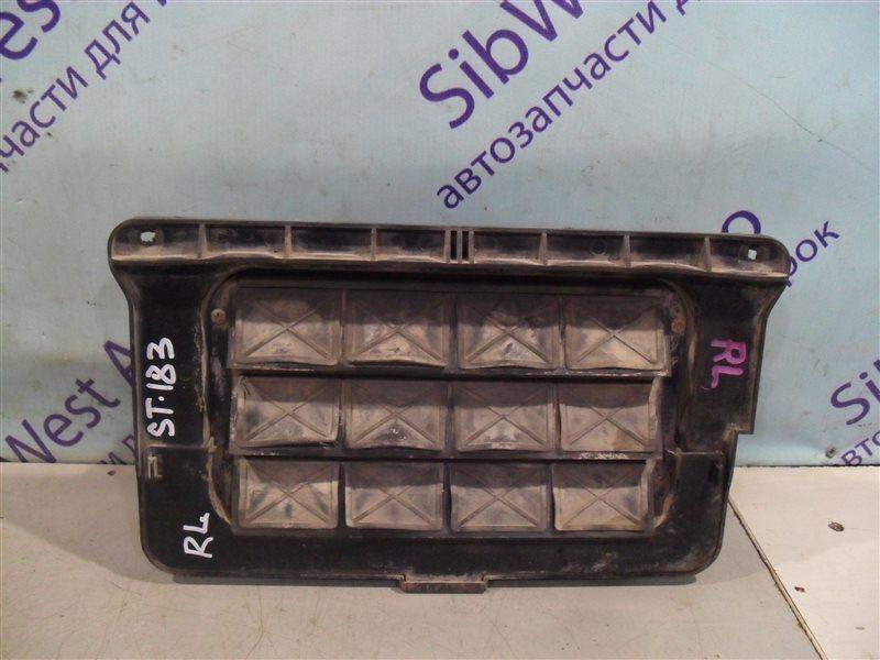 Клапан вентиляции крыла Toyota Carina Ed ST183(2) 3SFE 1989 задний левый