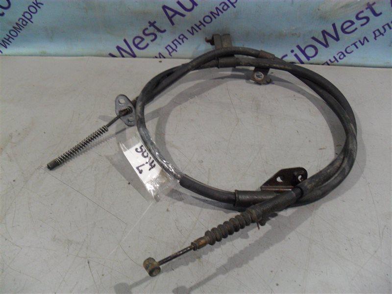 Тросик ручника Nissan Bluebird SU14 CD20 1999 задний левый