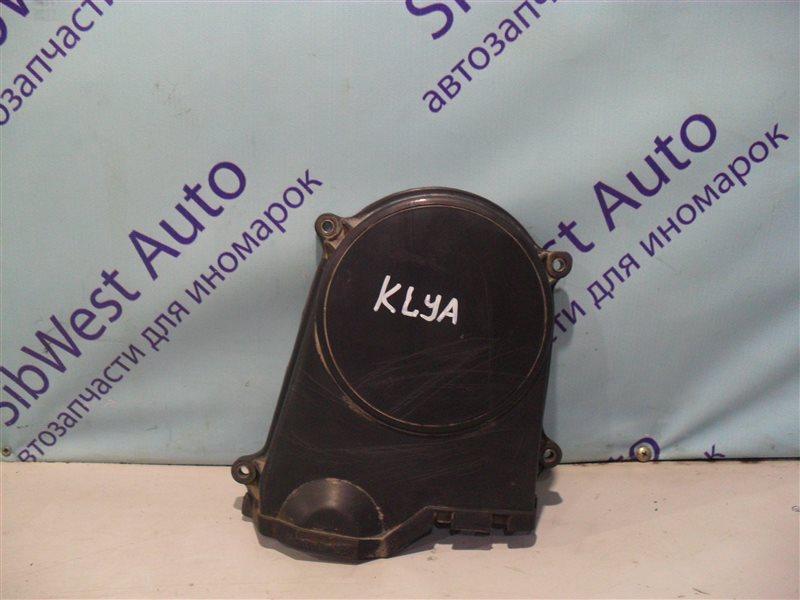 Крышка ремня грм Daewoo Matiz KLYA F8CV 2010 верхняя