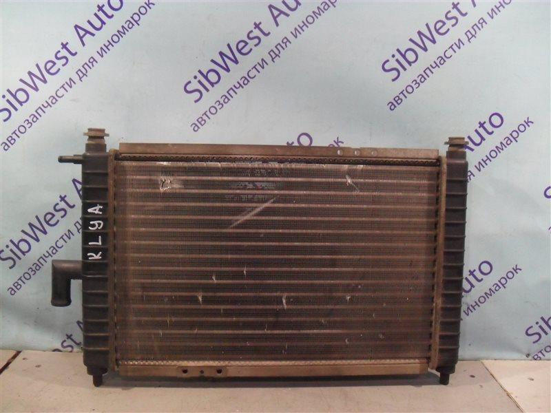 Радиатор основной Daewoo Matiz KLYA F8CV 2010