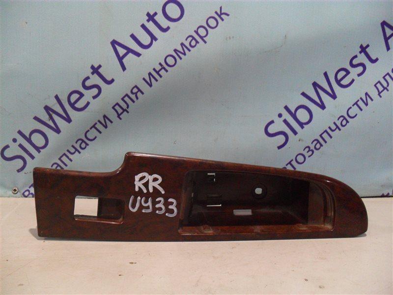 Пластик двери Nissan Cedric UY33 RD28 1997 задний правый