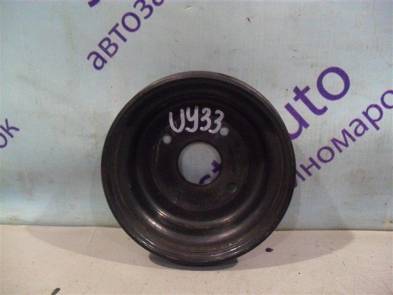 Шкив помпы Nissan Cedric UY33 RD28 1997