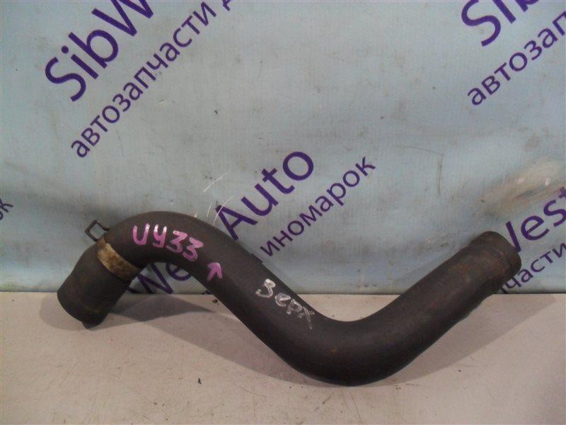 Патрубок радиатора Nissan Cedric UY33 RD28 1997 верхний