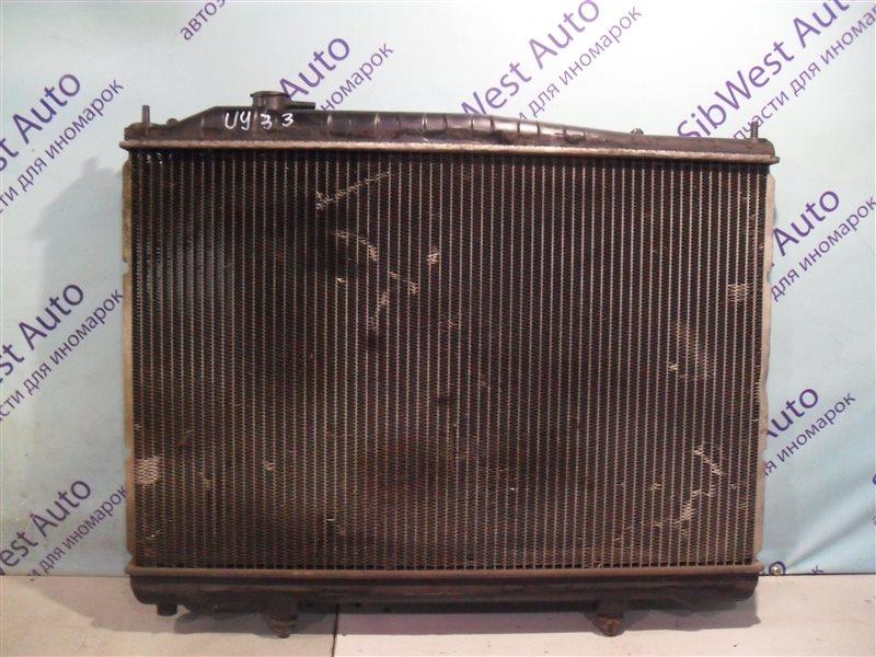 Радиатор основной Nissan Cedric UY33 RD28 1997