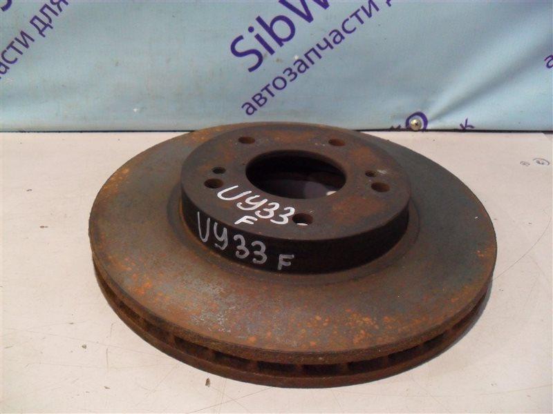 Тормозной диск Nissan Cedric UY33 RD28 1997 передний