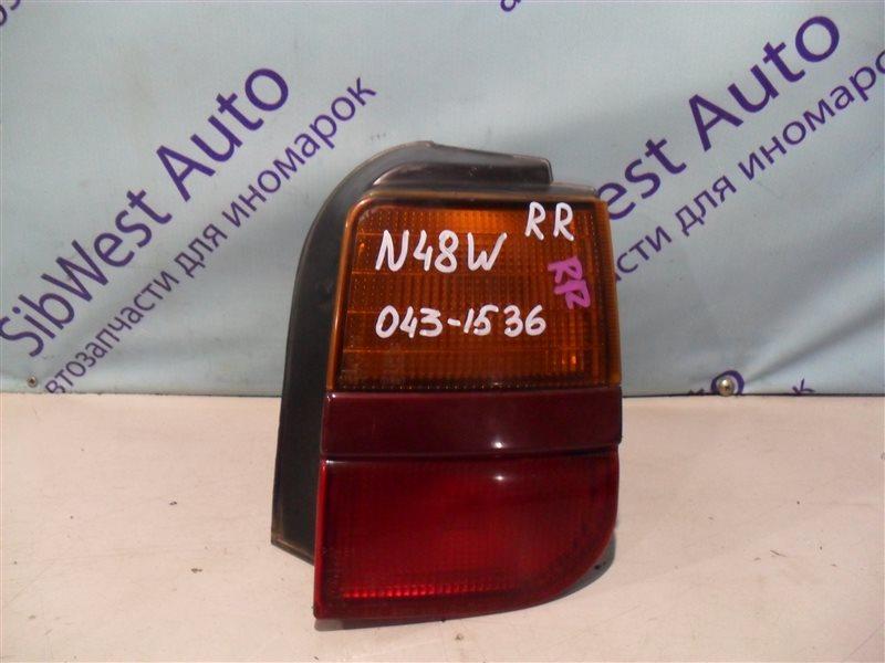 Стоп-сигнал Mitsubishi Chariot N48W 4D68 1994 задний правый