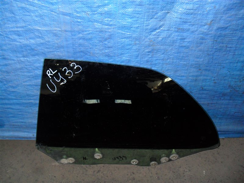 Стекло двери Nissan Cedric UY33 RD28 1997 заднее левое