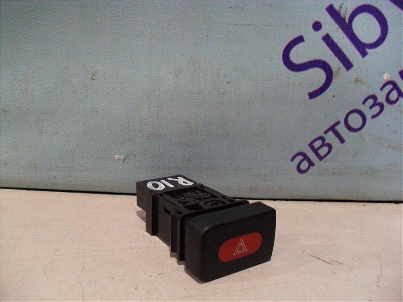 Кнопка аварийной сигнализации Nissan Presea R10 GA15DS 1991