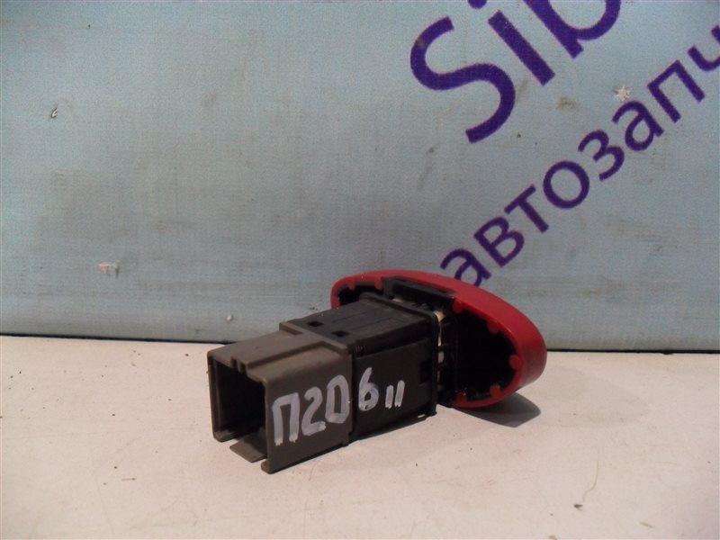 Кнопка аварийной сигнализации Peugeot 206 2AC TU3JP 1999