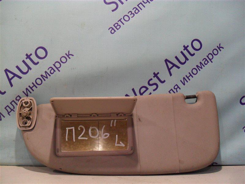Козырек Peugeot 206 2AC TU3JP 1999 левый