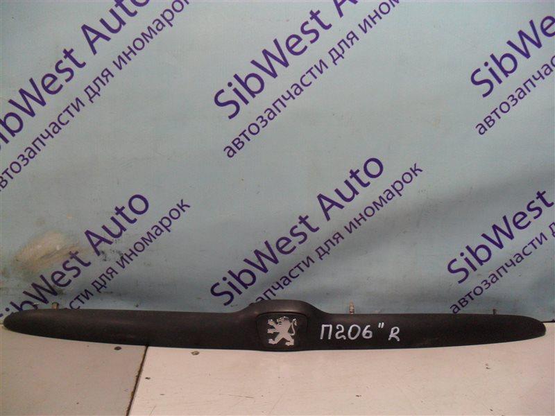 Накладка замка багажника Peugeot 206 2AC TU3JP 1999