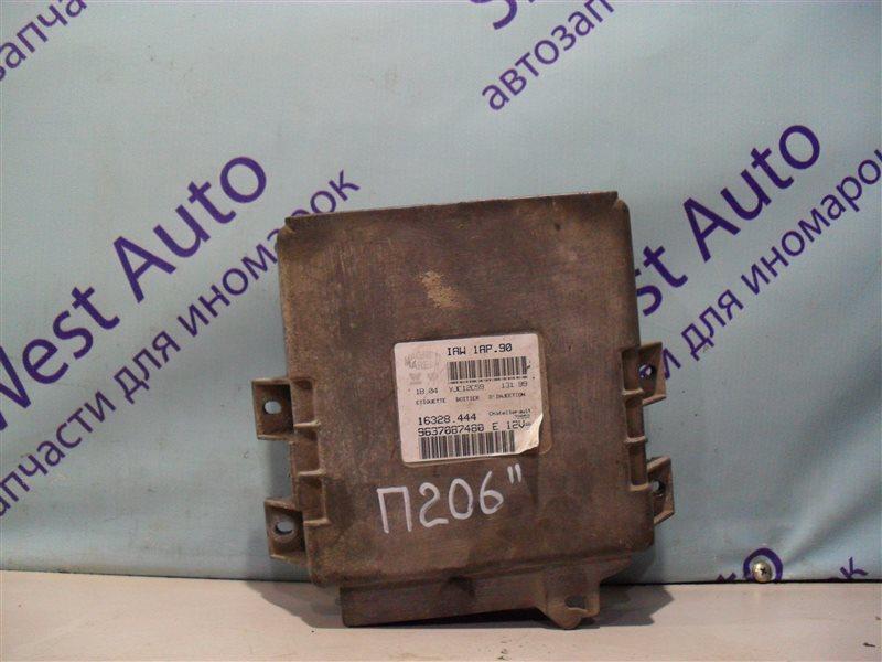 Блок управления efi Peugeot 206 2AC TU3JP 1999
