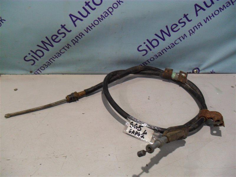 Тросик ручника Subaru Forester SG5 EJ202 2002 задний левый