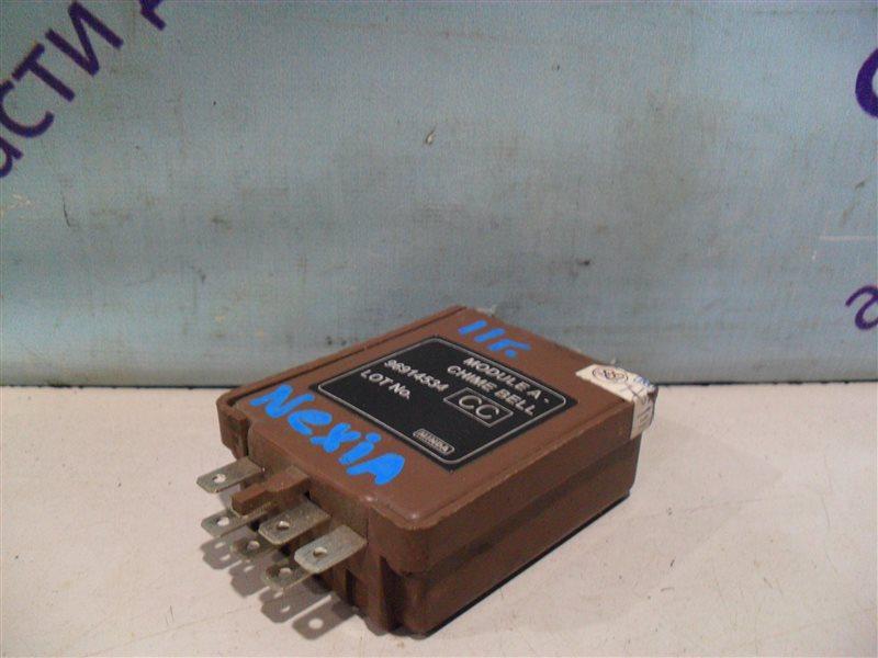 Электронный блок Daewoo Nexia 2 KLETN F16D3 2011