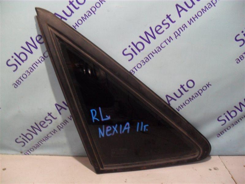 Форточка кузова Daewoo Nexia 2 KLETN F16D3 2011 задняя левая