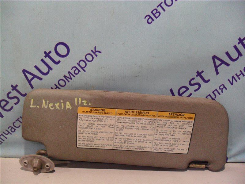 Козырек Daewoo Nexia 2 KLETN F16D3 2011 передний левый