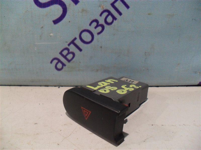 Кнопка аварийной сигнализации Chevrolet Lanos T100 A15SMS 2005 задняя