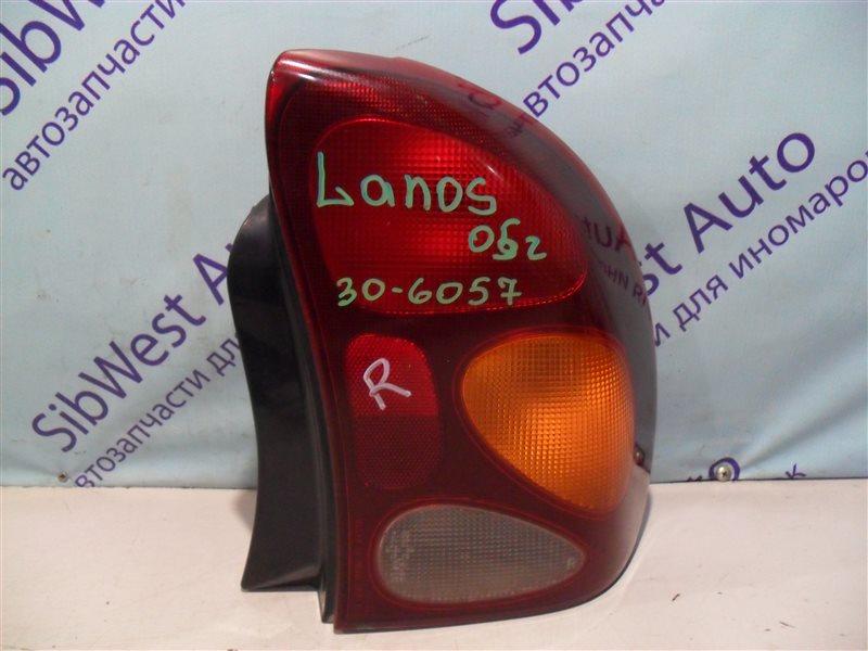 Стоп-сигнал Chevrolet Lanos T100 A15SMS 2005 задний правый