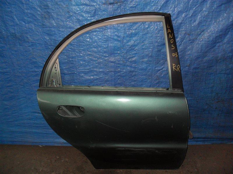 Дверь Chevrolet Lanos T100 A15SMS 2005 задняя правая