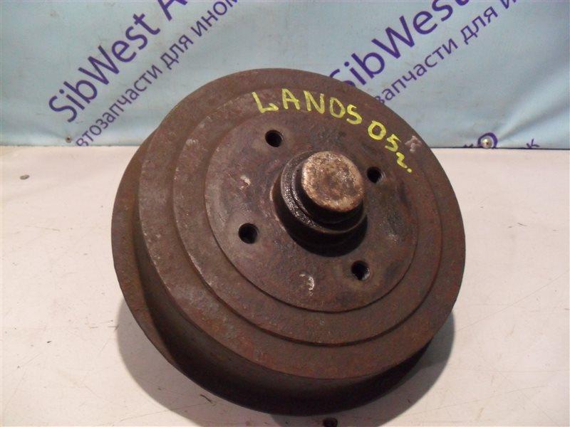 Тормозной барабан Chevrolet Lanos T100 A15SMS 2005 задний