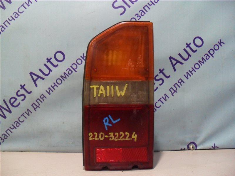 Стоп-сигнал Suzuki Escudo TA11W H20A 1995 задний левый