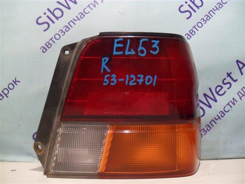 Стоп-сигнал Toyota Corsa EL53 5E-FE 1995 задний правый