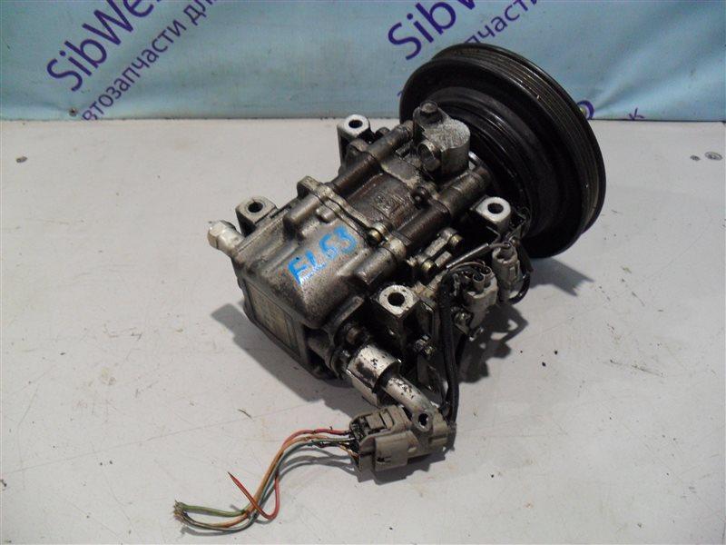 Компрессор кондиционера Toyota Corsa EL53 5E-FE 1995