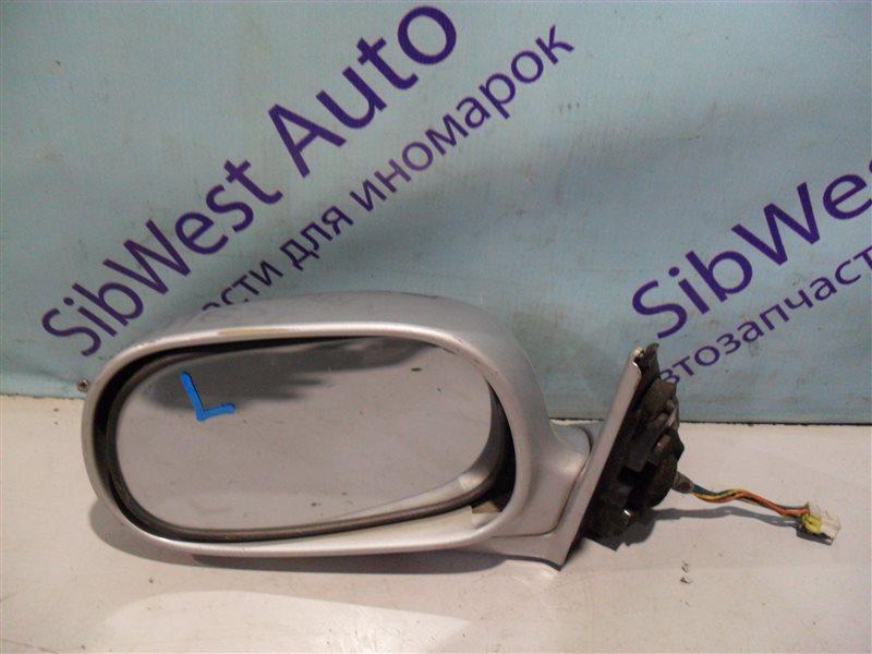 Зеркало Mitsubishi Galant E72A 4G93 1993 левое