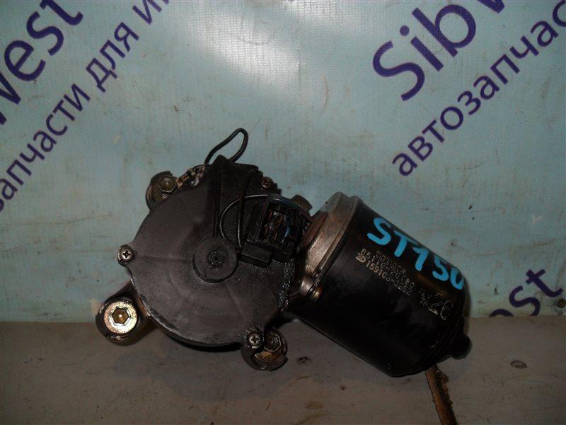 Мотор дворников Toyota Carina Ii ST150 1SEL 1986 передний