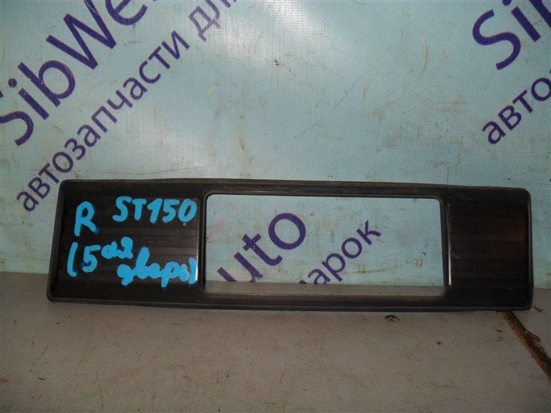 Накладка на багажник Toyota Carina Ii ST150 1SEL 1986 задняя