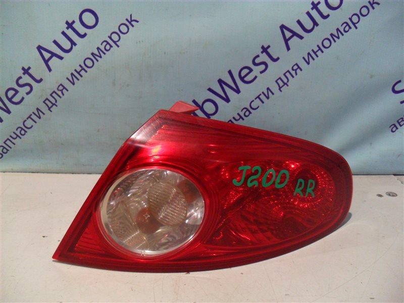 Стоп-сигнал Chevrolet Lacetti J200 T18SED 2004 передний правый