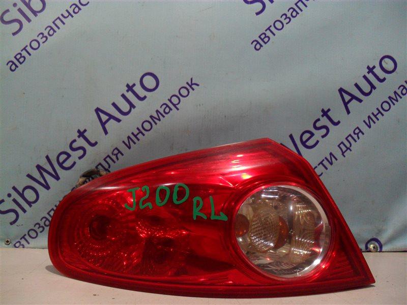 Стоп-сигнал Chevrolet Lacetti J200 T18SED 2004 задний левый