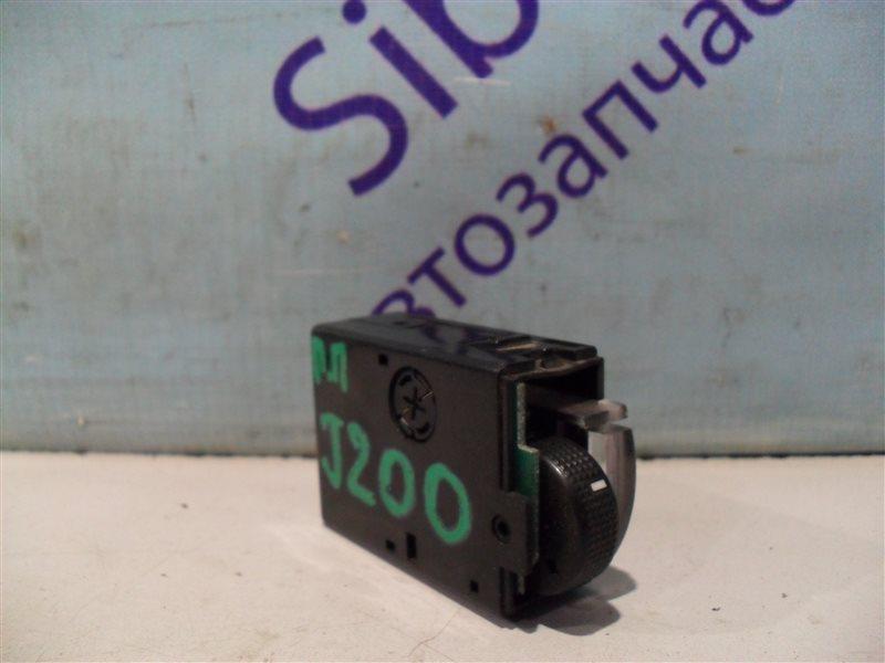 Кнопка корректора фар Chevrolet Lacetti J200 T18SED 2004