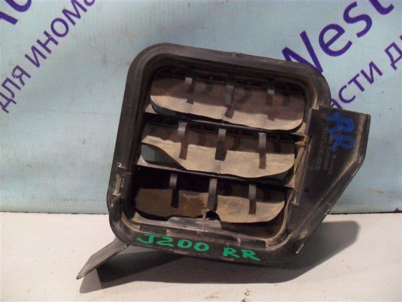 Клапан вентиляции крыла Chevrolet Lacetti J200 T18SED 2004 задний правый