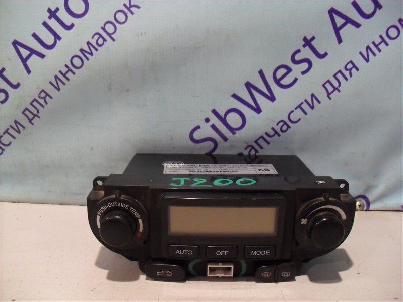 Блок управления климат-контролем Chevrolet Lacetti J200 T18SED 2004