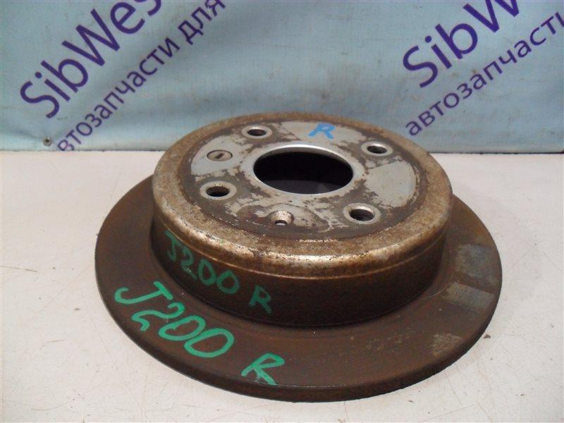 Тормозной диск Chevrolet Lacetti J200 T18SED 2004 задний