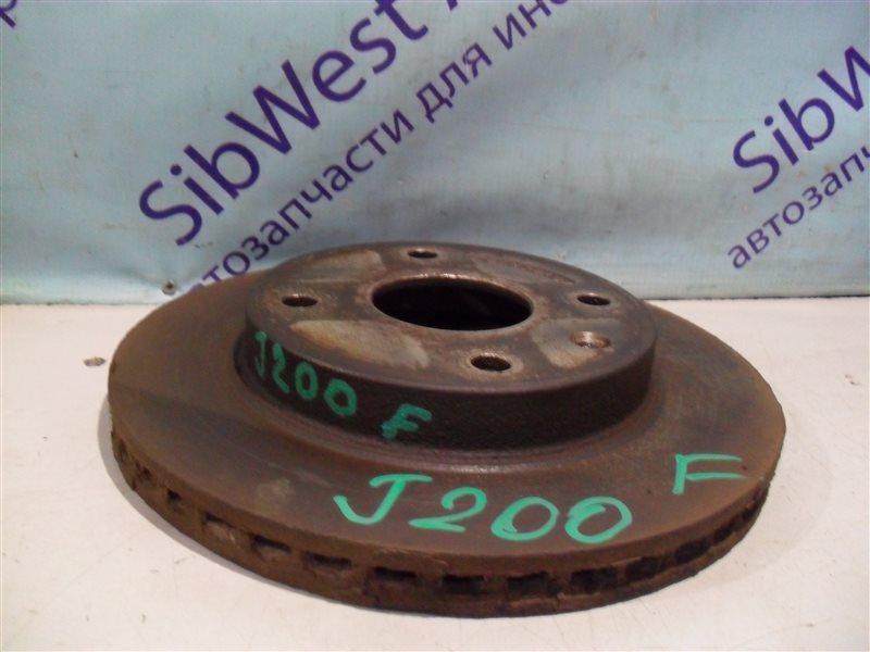 Тормозной диск Chevrolet Lacetti J200 T18SED 2004 передний