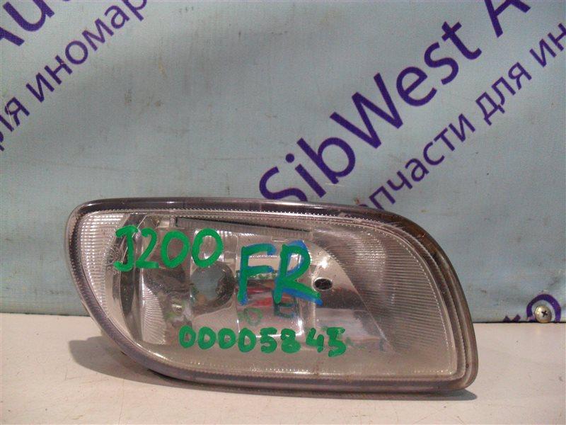 Туманка Chevrolet Lacetti J200 T18SED 2004 передняя правая
